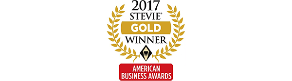2017 Gold Stevie Award Image